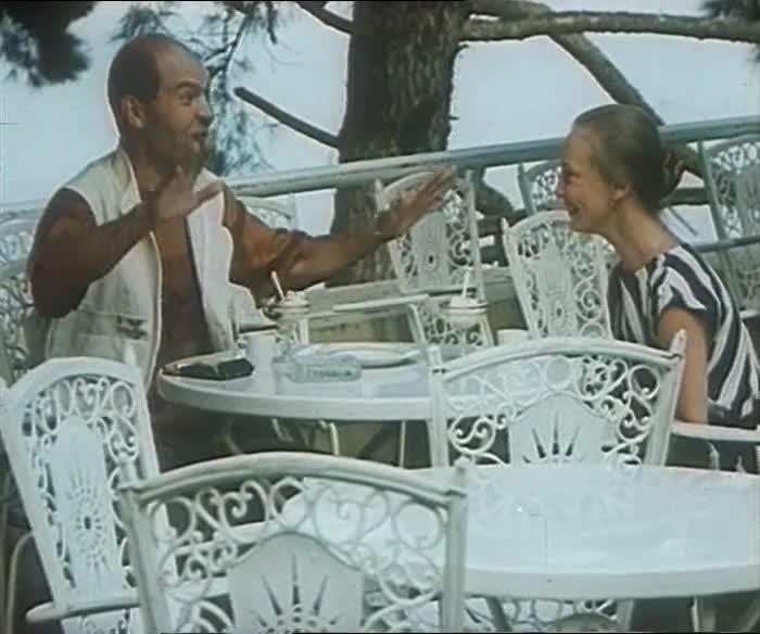 Дама с попугаем [1988, мелодрама, комедия]