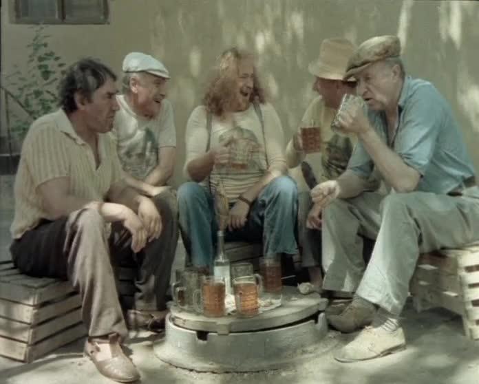 Чёртов пьяница [1991, комедия]
