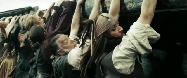 Пираты Карибского моря: На краю Света [2007, фэнтези, боевик, комедия, приключения]