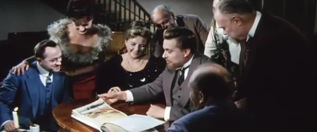 Гранатовый браслет [1965, драма]
