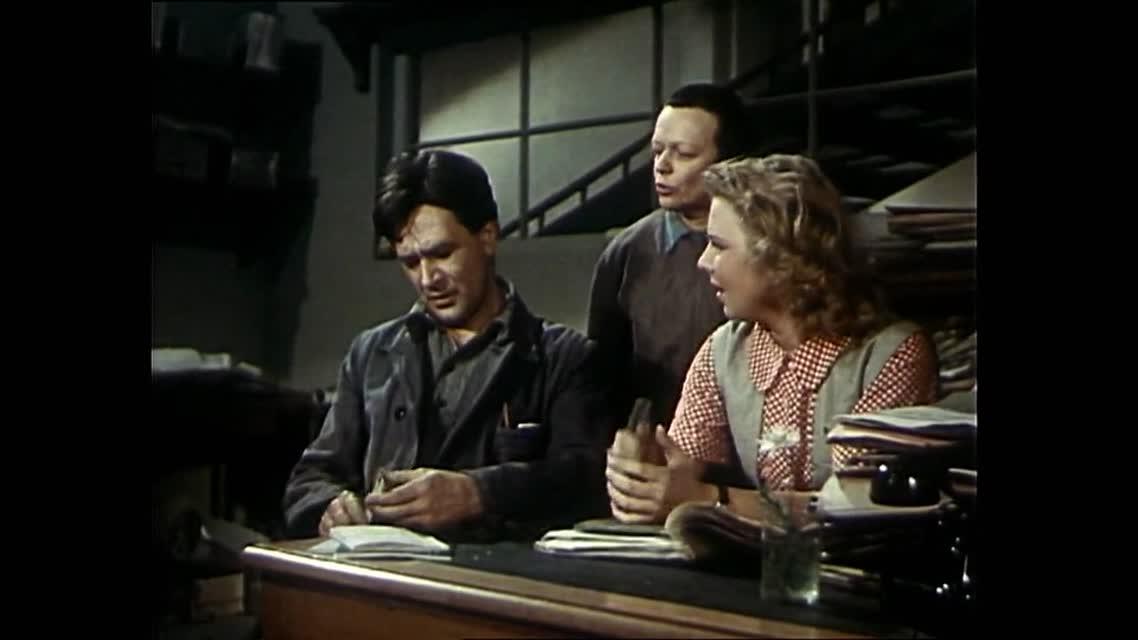 Большая семья [1954, драма]