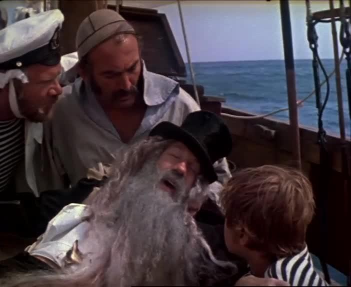 Новые приключения капитана Врунгеля [1978, эксцентрическая музыкальная комедия]