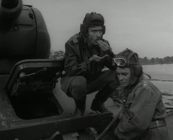 """Четыре танкиста и собака. 3 серия """"Где мы — там граница"""" [1966-1970, военный]"""