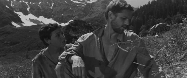 Альпийская баллада [1965, драма, мелодрама]
