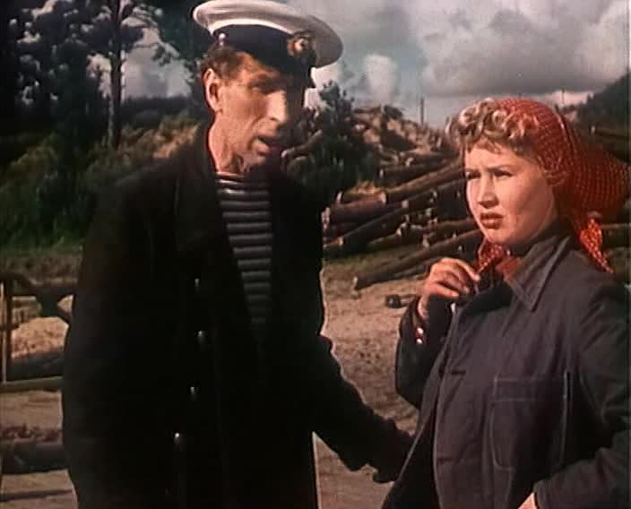 Медовый месяц [1956, лирическая комедия]
