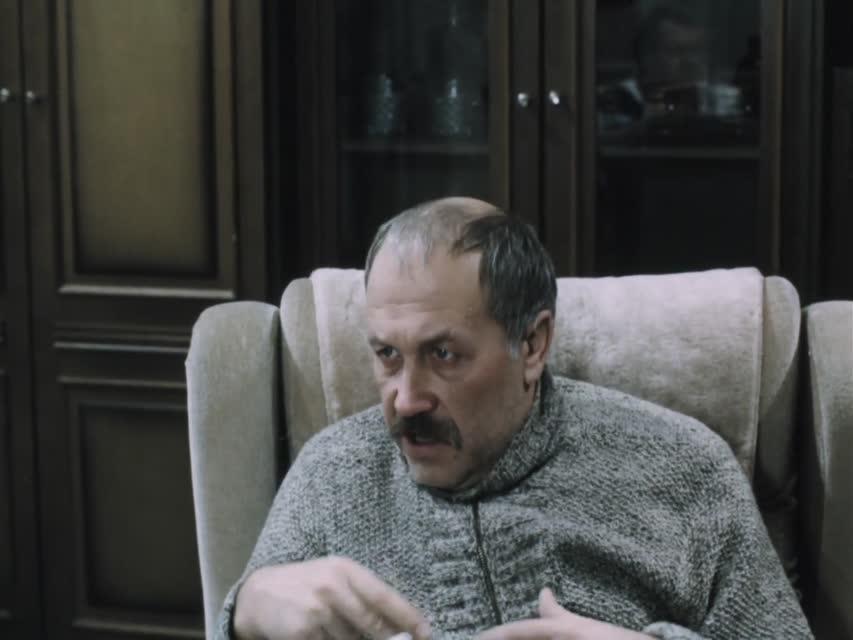 """Человек из чёрной """"Волги"""" [1990, криминальная драма]"""