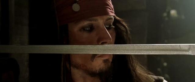 Пираты Карибского моря: Проклятие Черной жемчужины [2003, фэнтези, боевик, комедия, приключения]