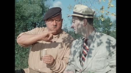 Пес Барбос и необычный кросс [1961, комедия]