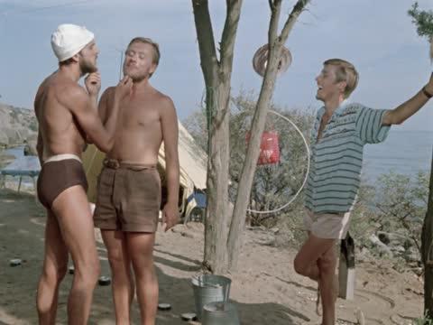 Три плюс два (4х3) [1963, мелодрама, комедия]