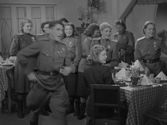 Небесный тихоход [1945, военный, комедия]