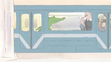 Веселая карусель № 44. Бабушка с крокодилом [2016, мультфильм]