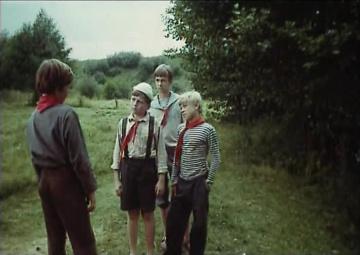 Бронзовая птица. 2-3 серии [1974, детский, приключения]